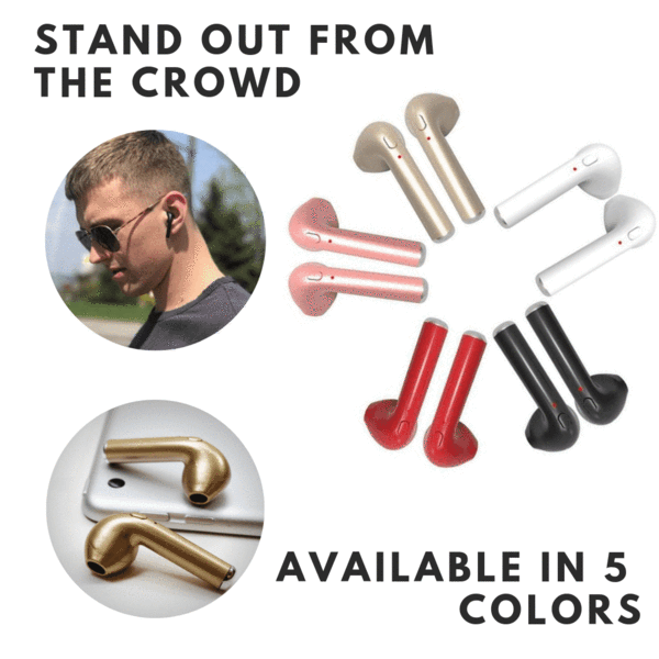 Wireless Earphones (FREE 3-4 DAYS USA SHIPPING)