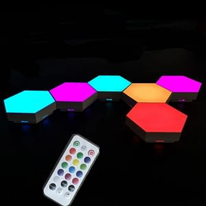 Colorful Hexagon Lights