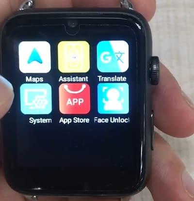 DM20 Facial Unlock Smartwatch